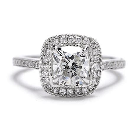 beverley k cushion engagement ring setting greenwich st jewelers