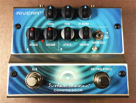 Rivera Sustain Shaman Review  Best Modern Compression Pedal?
