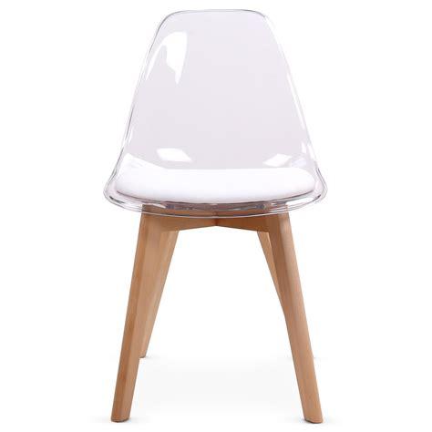 chaise et blanche chaise blanche et bois maison design modanes com
