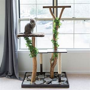 Arbre A Chat En Palette : branche de bois d co naturelle dans l 39 esprit du temps ~ Melissatoandfro.com Idées de Décoration