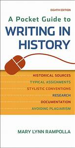 A Pocket Guide To Writing In History  9781457690884