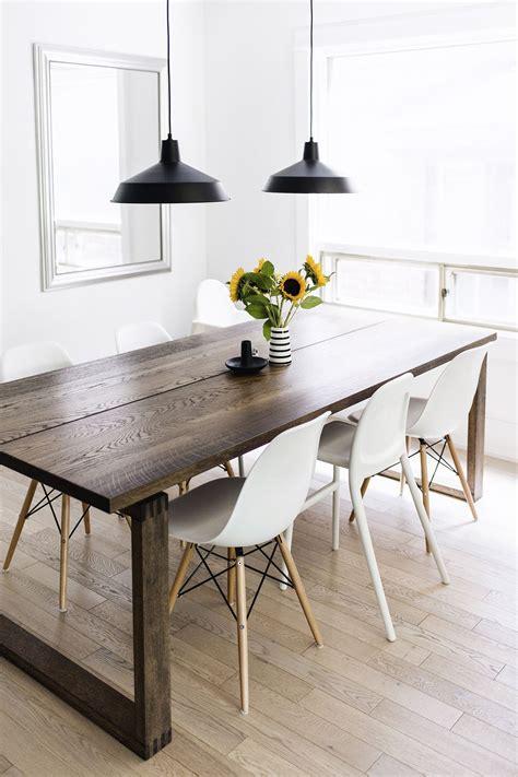 scandinavian inspired dining room mörbylånga table