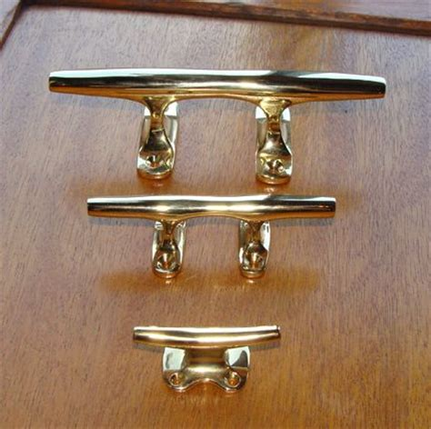 nautical drawer pulls cleats can be used for drawer and cabinet pulls towel