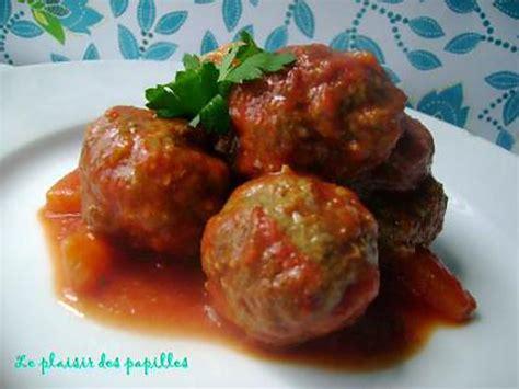 boulettes de viande sauce tomate cuisine italienne recette de boulettes de viande sauce aigre douce