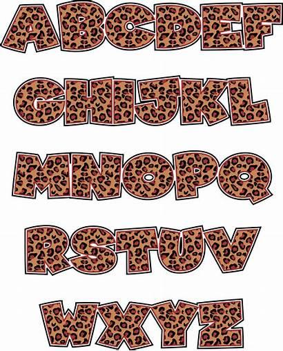 Letters Animal Clip Printable Clipart Letter Alphabet
