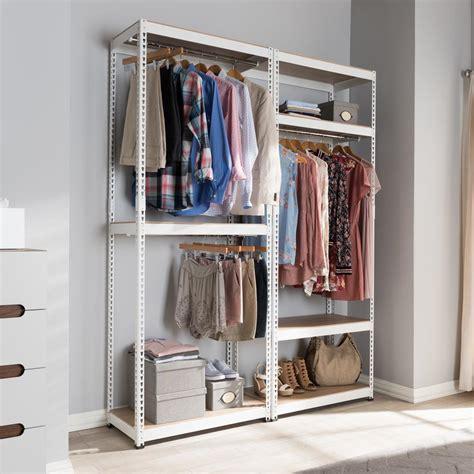 Closetmaid Shelftrack 5 Ft To 8 Ft White Wire Closet
