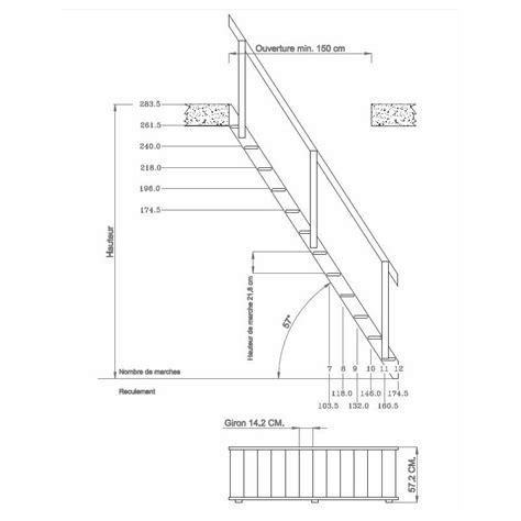 escalier de meunier dimensions echelle de meunier