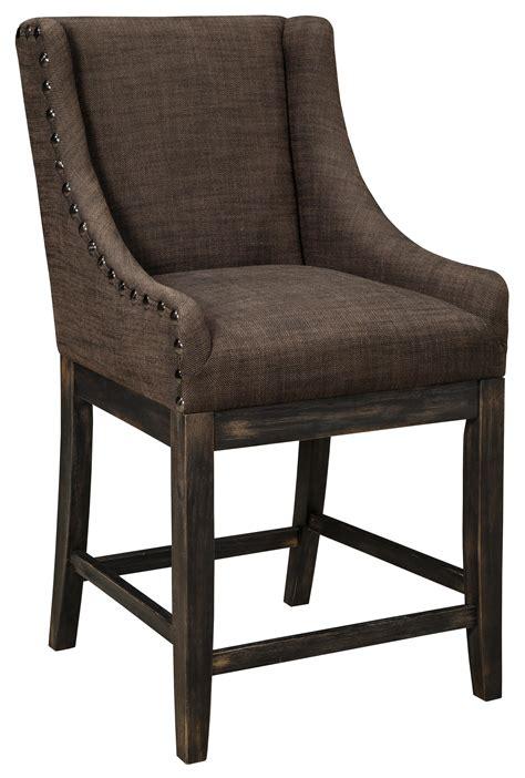 signature design moriann upholstered barstool with