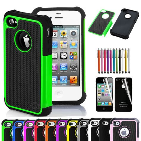 Rubber Iphone 4 Iphone 4s for iphone 4 4s black rugged rubber matte