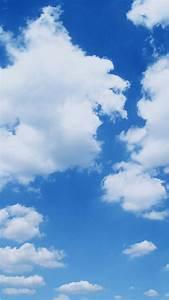 晴天の雲 iPhone6壁紙
