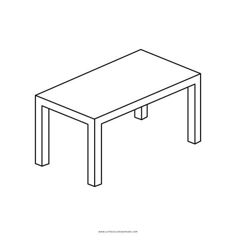 table colouring pages sketch coloring page