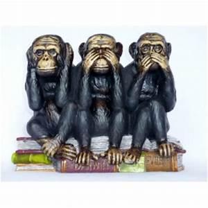 Statue Singe De La Sagesse : singe de la sagesse dans divers achetez au meilleur prix ~ Teatrodelosmanantiales.com Idées de Décoration