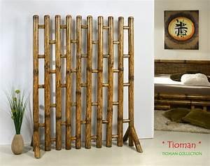 Raumteiler Bauen Schnell Fertig : tioman designer paravent raumteiler bambus lounge ~ Michelbontemps.com Haus und Dekorationen