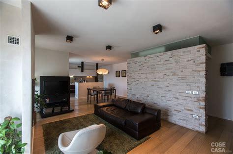 110 mq: una casa con pareti d effetto Cose di Casa