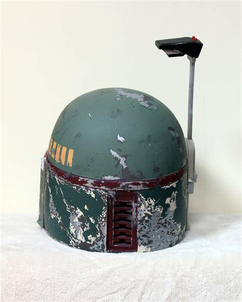 boba fett helmet building boba boba fett s empire strikes back helmet photos