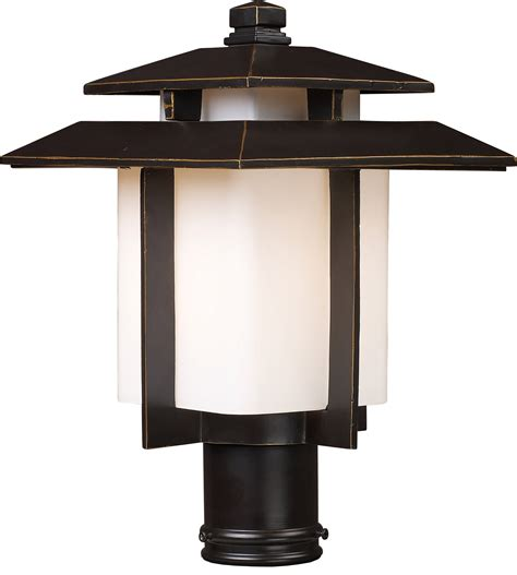 currey and company elk lighting 42173 1 kanso outdoor post mount fixture