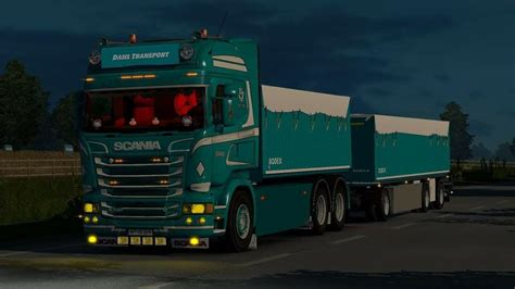 container combo  rjl  truck mod euro truck