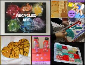 Recycled Arts and Crafts Projects