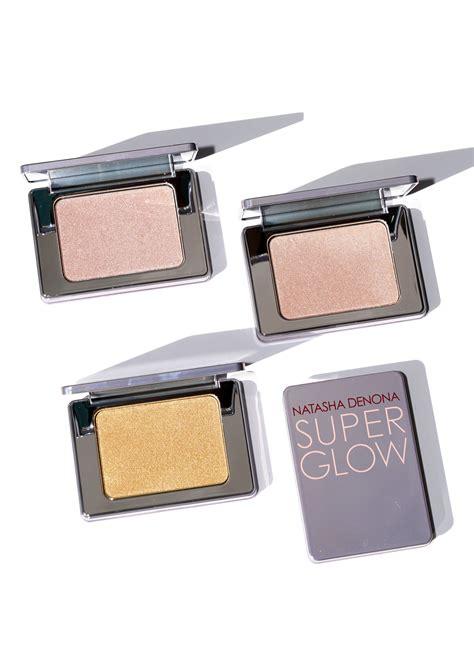 natasha denona super glow highlighter camel eyeshadow