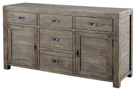Rustic Sideboards Furniture by Parsons Sideboard Buffet 61 S Ash Rustic Buffets