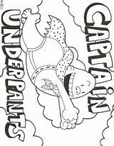 Coloring Underpants Captain Underwear Printable Sheets Colouring Drawing Under Pants Activities Dog Rocks Websincloud Epic George Getcolorings Birthday Harold Monster sketch template