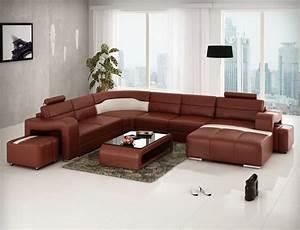 Garnitur U Form : ledersofa leopold couch ecksofa sofagarnitur designer sofa wohnlandschaft ~ Indierocktalk.com Haus und Dekorationen