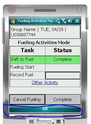 windows mobile bottom bar png 305x416
