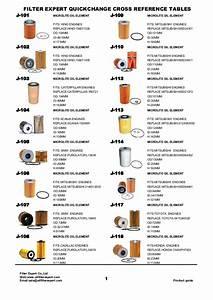 Oil Filter Catalog From Filter Expert China Filter