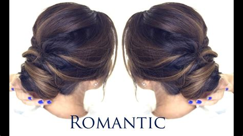 minute romantic bun hairstyle easy updo hairstyles