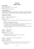 Sle Resume For Painter And Decorator by Painter Decorator Resume Sales Painter Lewesmr