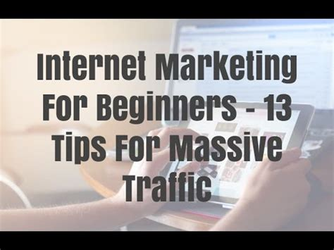 Marketing For Beginners by Marketing For Beginners 13 Tips For