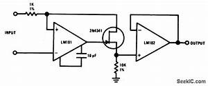 level shifting isolation amplifier amplifier circuit With opamp levelshifting