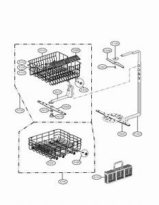 Rack Assembly Parts Diagram  U0026 Parts List For Model