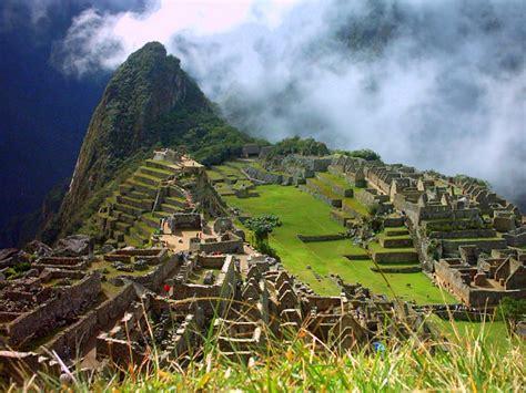Machu Picchu Most Beautiful Place In World Building