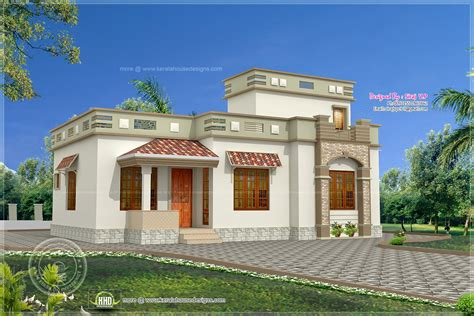 Low Budget Kerala Style Home In 1075 Sqfeet  House