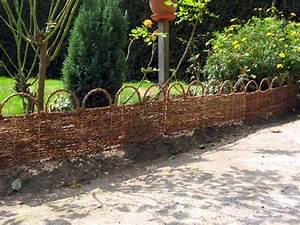 Bordure De Jardin : bordure de jardin bois arche palme bordure de jardin ~ Melissatoandfro.com Idées de Décoration