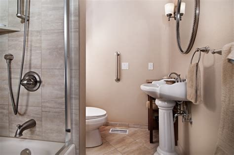 Ada Bathroom Designs by Aging In Place Bathroom For The Home