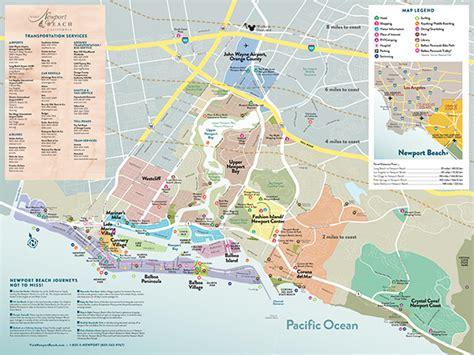 Full Map of Newport Beach