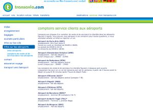 transavia reservation siege service client transavia contact telephone mail adresse
