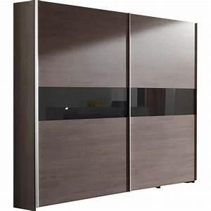 Porte Coulissante Grande Largeur : grande armoire 250 cm en bois avec porte coulissante ~ Dailycaller-alerts.com Idées de Décoration
