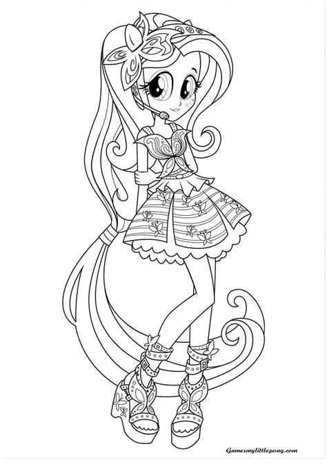 rainbow dash equestria girl coloring page   pony