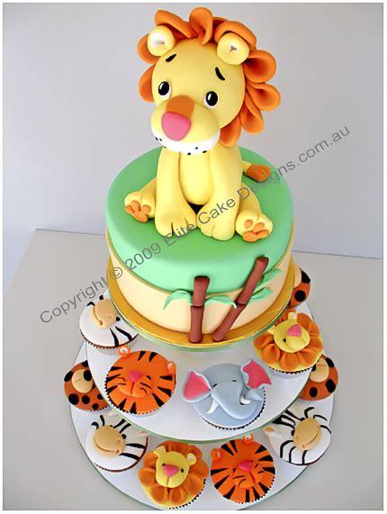 jungle zoo animal cupcakes kids birthday cupcakes st