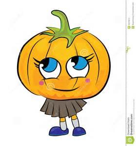 Pumpkin Cartoon Characters