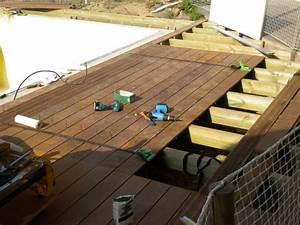 terrasse bois pose nos conseils With pose de terrasse en bois
