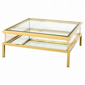 blanchett hollywood gold frame sliding glass square coffee With glass coffee table gold frame