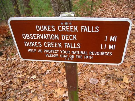 dukes creek falls hiking