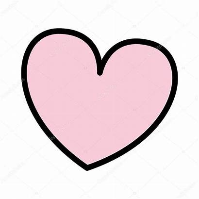 Heart Icon Illustration Isolated Vector Depositphotos Djv
