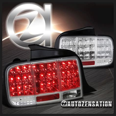 05 09 Ford Mustang Chrome Led Integrate Sequential Turn