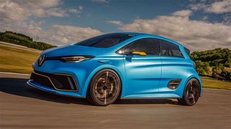 renault zoe renault zoe e sport review 460bhp supermini driven top gear