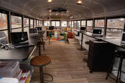 Bus Turned Into Mobile Classroom For Economically ...